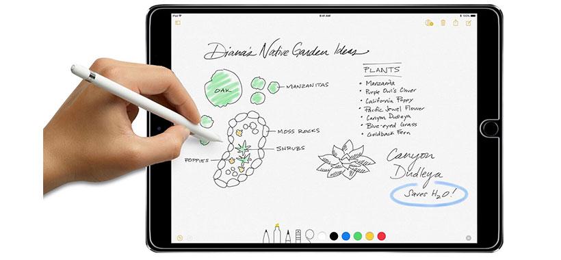 محافظ صفحه نمایش شیشه ای تبلت اپل iPad Air 2
