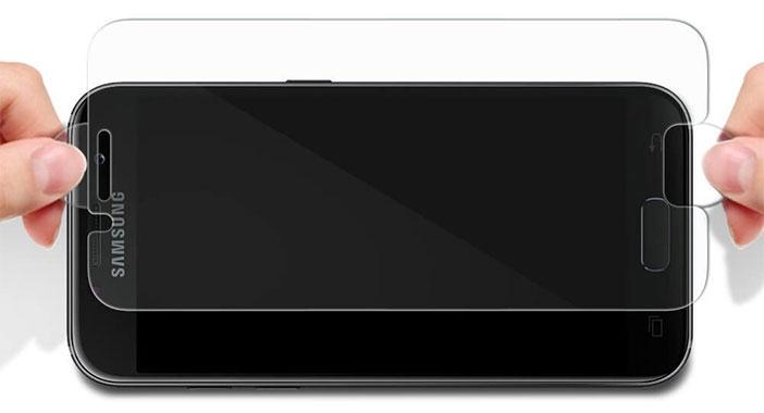 محافظ صفحه سامسونگ a3 2017 مدل spigen