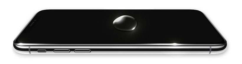 محافظ صفحه نمایش آیفون X با طراحی باریک و مقاوم در برابر چربی