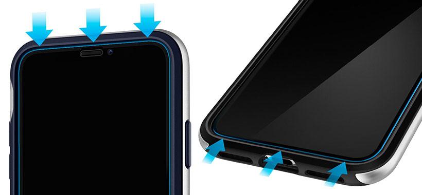 محافظ صفحه شیشه ای اسپیگن iPhone X