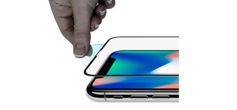محافظ صفحه نمایش شیشه ای اسپیگن گوشی آیفون ایکس