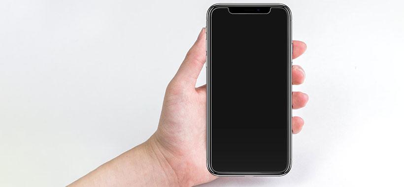 محافظ صفحه شیشهای اسپیگن iPhone X