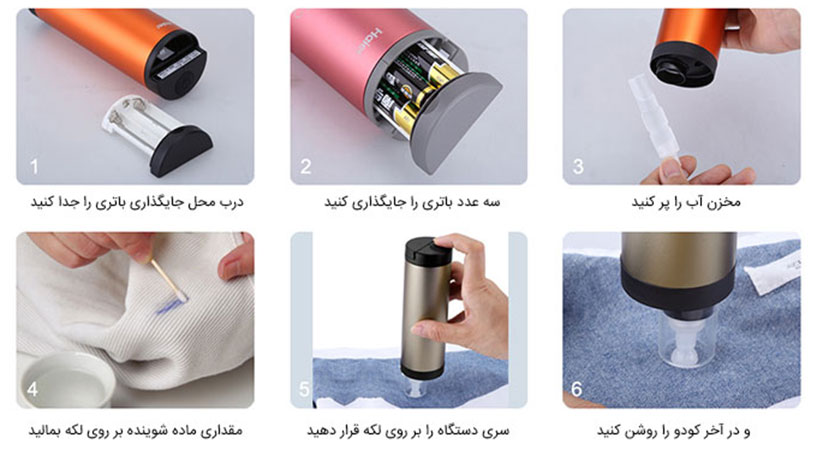ماشین لباس شویی جیبی کودو هایر Haier Codo Handy Washer