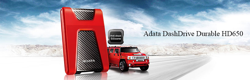 Adata DashDrive Durable HD650 Eternal Hard