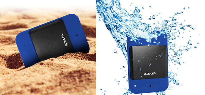 HD700 ای دیتا مقاوم در برابر آب و گرد و غبار
