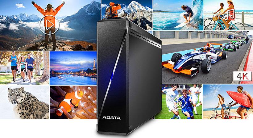هارد اکسترنال ای دیتا 4 ترابایت Adata HM900 External Hard Drive 4TB