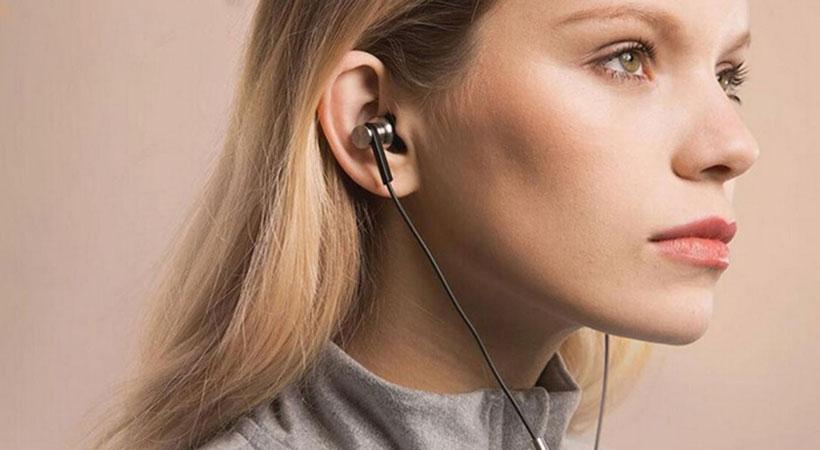 هدفون 3 درایور داخل گوش و پشت بسته وان مور 1More Triple Driver 3.5mm Jack In-Ear E1001 Headphones