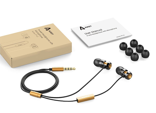 هندزفری باسیم آکی Aukey EP-C2 In-Ear Headphone