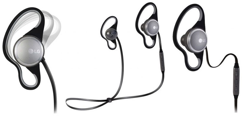 هدست بلوتوث ورزشی ال جی LG Force Premium Wireless Sports Headset HBS-S80