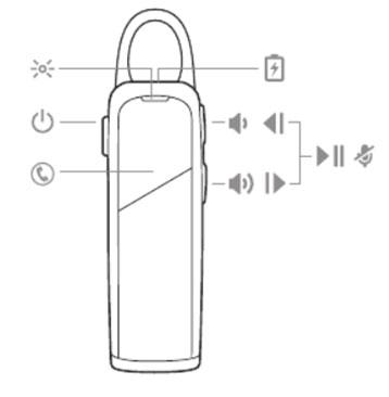 هندزفری بلوتوث پلنترونیکس Plantronics Explorer 80 Bluetooth Headset