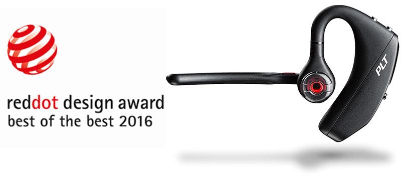 هندزفری پلنترونیکس برنده جایزه RedDot 2016