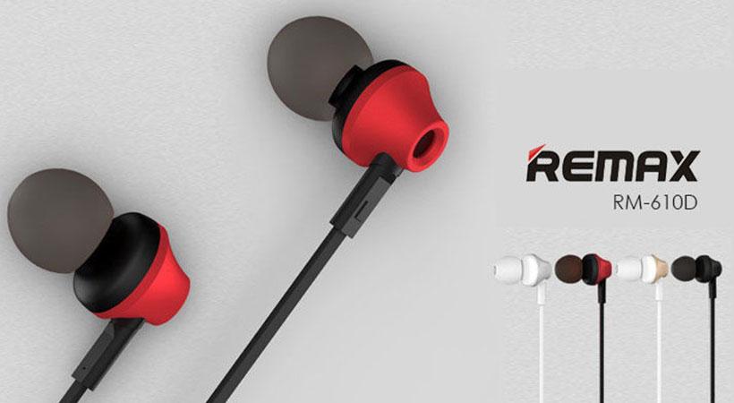 هندزفری ریمکس Remax RM-610D Handsfree