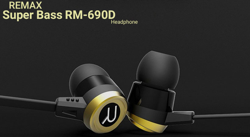 هندزفری باسیم ریمکس Remax Super Bass RM-690D Headphone