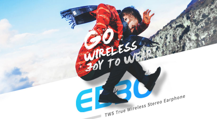 هدست بلوتوث راک Rockspace EB30TWX True Wireless Stereo Earphone
