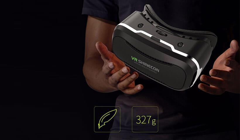 وزن کم هدست واقعیت مجازی شاین کن نسخه 2