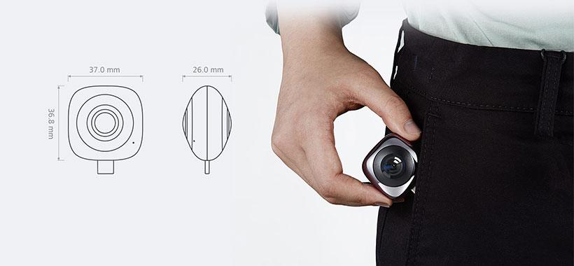 دوربین هواوی با ابعاد کوچک و قابل حمل