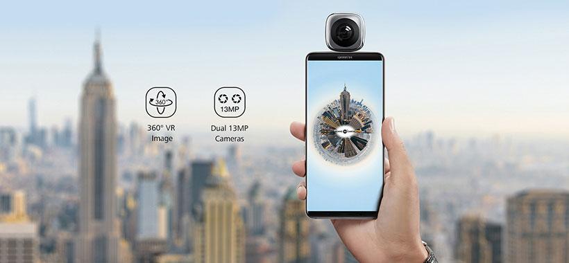 کیفیت بالا در ثبت عکس و ویدئو با دوربین هواوی
