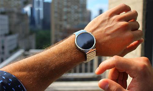 ساعت هوشمند هواوی بند فلزی لینک