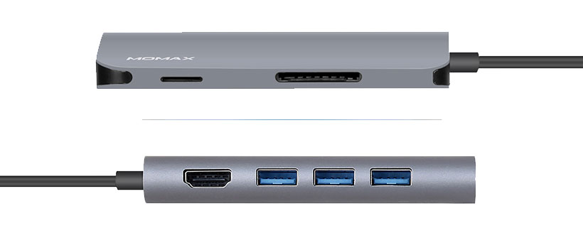 هاب یو اس بی تایپ سی مومکس Momax Onelink All-In-1 Type-C Hub