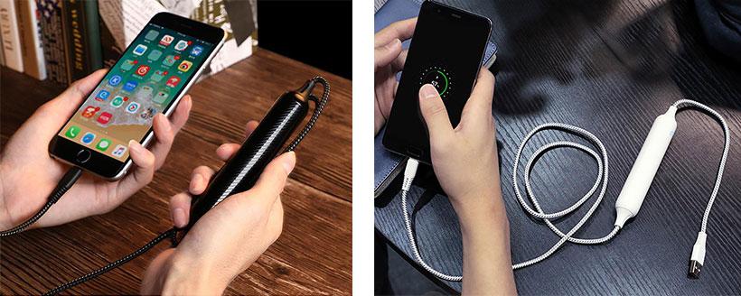 پاور بانک با کابل شارژ micro usb جویروم