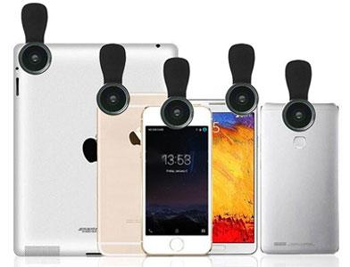 لنز گوشی موبایل LIEQI LQ-028 Fisheye, Wide , Macro