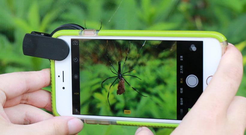 لنز گوشی موبایل لی کیو آی Lieqi LQ-603 Wide Angle, Fisheye & Macro Lens