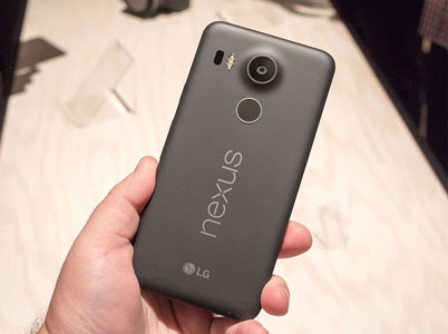 در باتری گوشی LG Nexus 5x