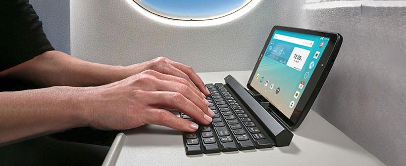 تایپ راحت با استفاده از kbb-710 ال جی