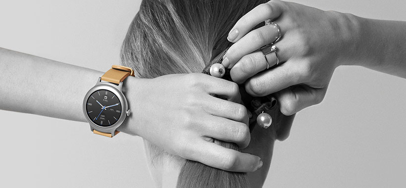 ساعت هوشمند LG W270با ظاهر زیبا و هوشمند