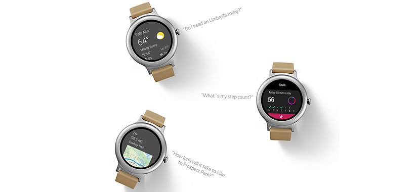 ساعت هوشمند ال جی مجهز به دستیار صوتی گوگل