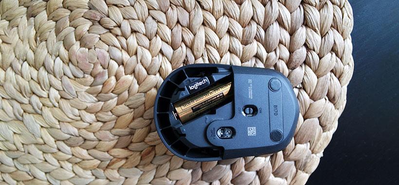 باتری با دوام و قدرتمند موس بی سیم لاجیتک