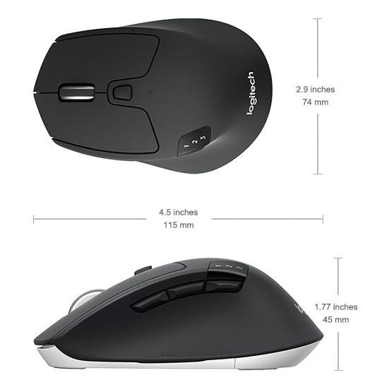 موس بی سیم لاجیتک Logitech M720 Wireless Mouse