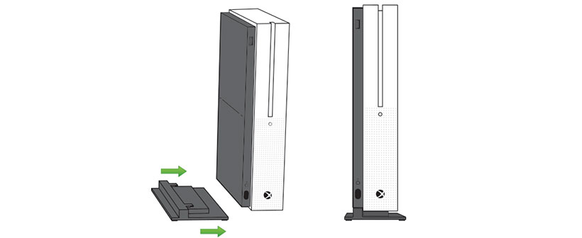 حفظ ایمنی دستگاه ایکس باکس باکس وان اس با پایه نگهدارنده عمودی