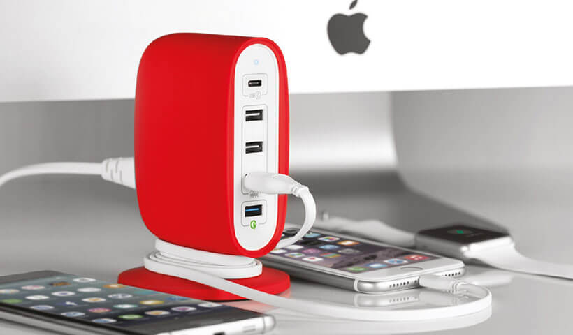 هاب یو اس بی رومیزی مومکس U.Bull 5-USB