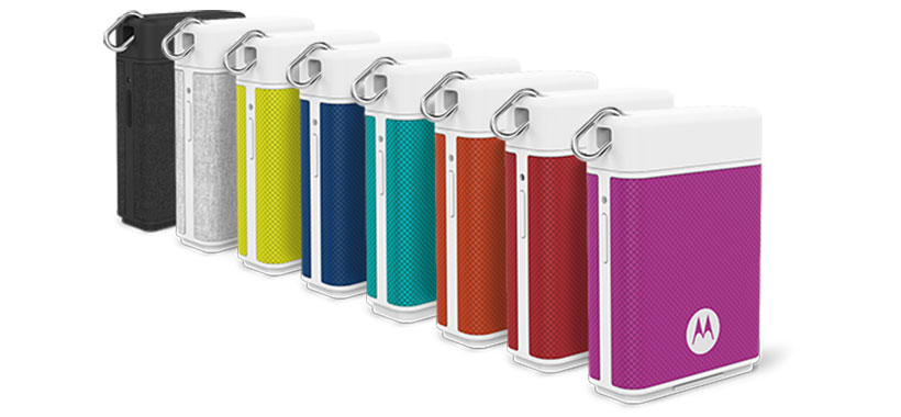 رنگ بندی متنوع پاور بانک PowerPack Micro Black