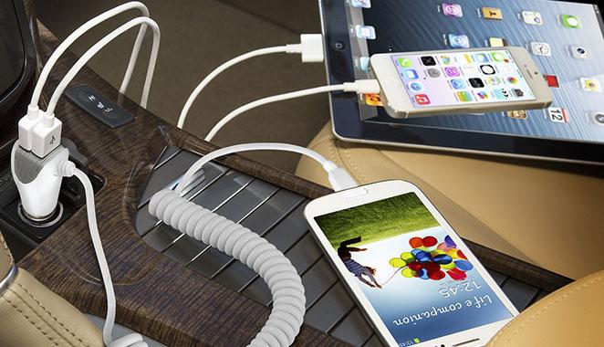 N420 Wired Micro USB شارژر فندکی نزتک