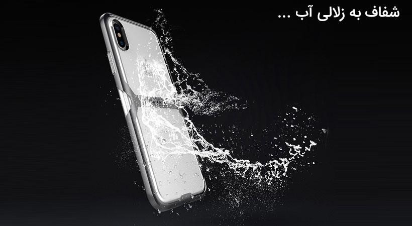 قاب محافظ نیلکین آیفون Nillkin Crystal Case Apple iPhone X