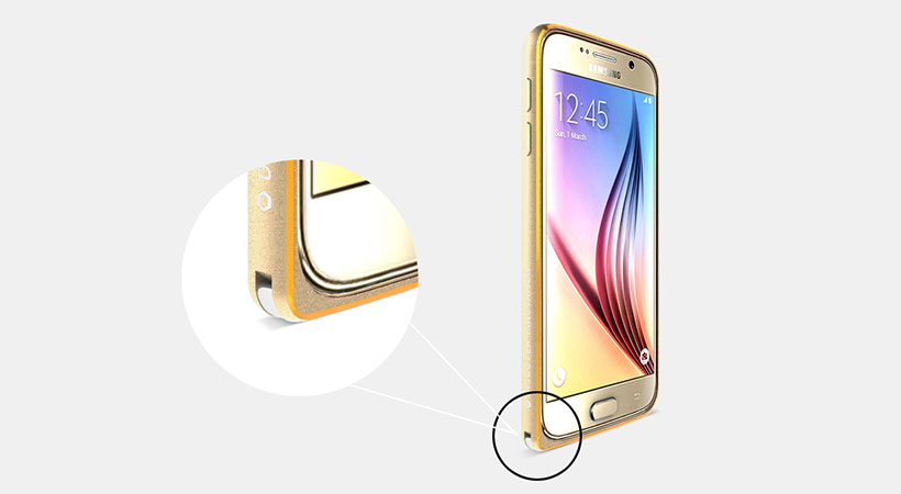 بامپر آلومینیومی نیلکین سامسونگ گلکسی Nillkin Gothic Samsung Galaxy S6
