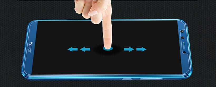 لمس آسان صفحه نمایش با محافظ شیشه ای نیلکین
