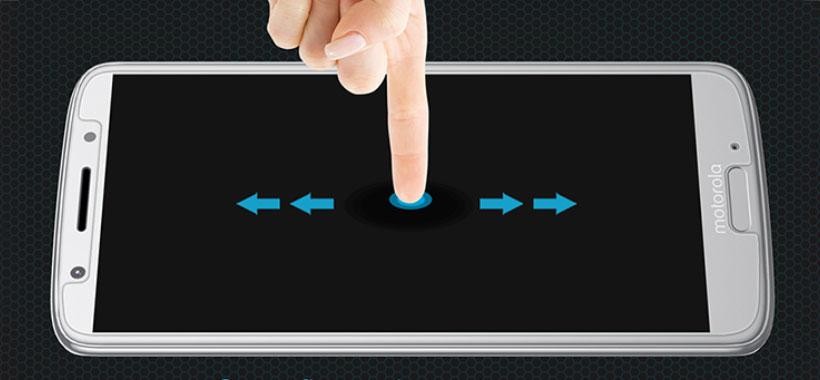 لمس راحت صفحه نمایش با گلس نیلکین