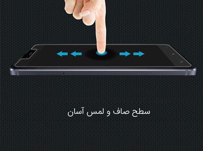 لمس راحت نمایشگر ردمی 4 با محافظ صفحه نیلکین