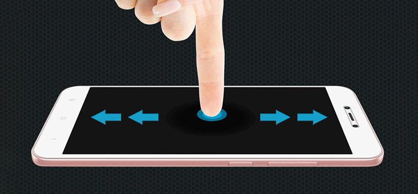 لمس آسان نمایشگر با محافظ صفحه نیلکین