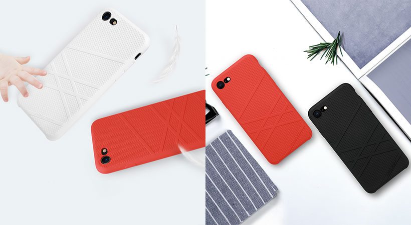 قاب محافظ آیفون Nillkin Liquid Silicone Flex Case Apple iPhone 8