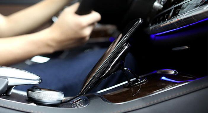 شارژر و نگهدارنده بیسیم مغناطیسی داخل خودرو نیلکین مدل II-C MC016