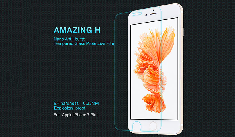 محافظ صفحه نمایش شیشه ای نیلکین آیفون Nillkin H Glass Apple iPhone 7 Plus