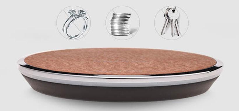 شارژر بی سیم نیلکین با قابلیت تشخیص گوشی از سایر فلزات