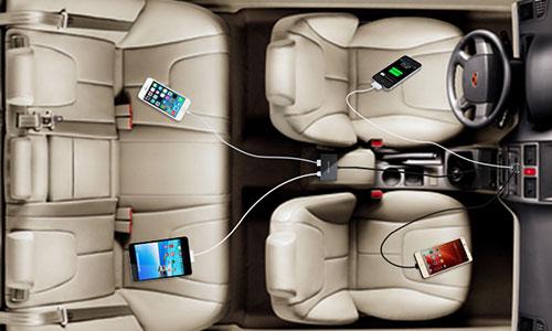 شارژر فندکی سریع نیلکین Nillkin Power Share Car Charger