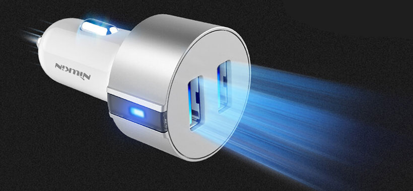 شارژر فندکی نیلکین دارای نشانگر LED