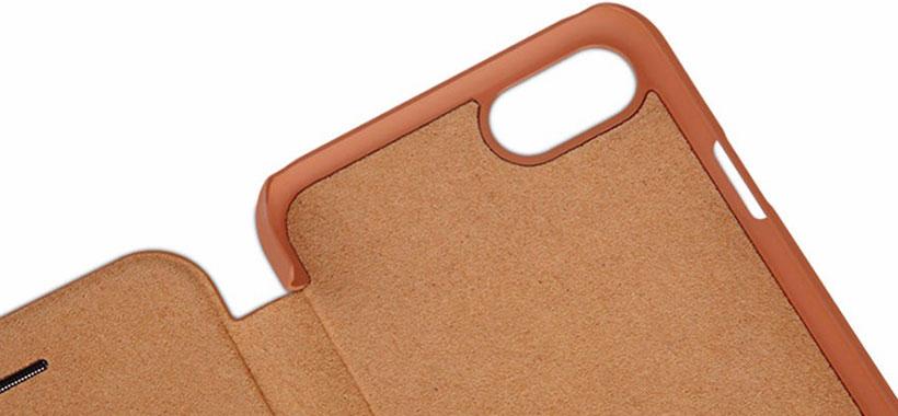 کیف چرمی نیلکینـیفون 6 پلاس با حفاظت از دوربین