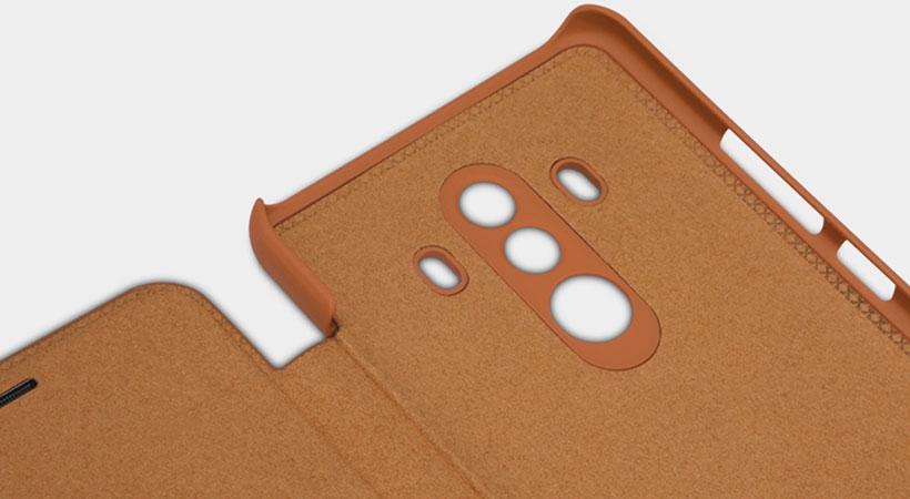 کیف چرمی نیلکین هواوی Nillkin Qin Leather Case Huawei Mate 10 Pro